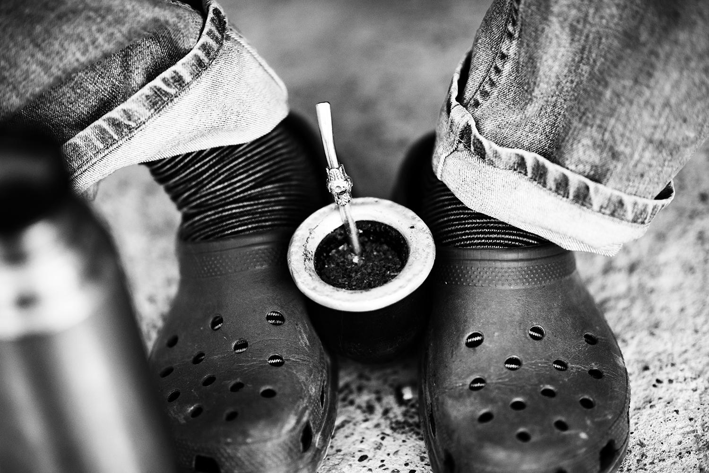 Matte and Crocs