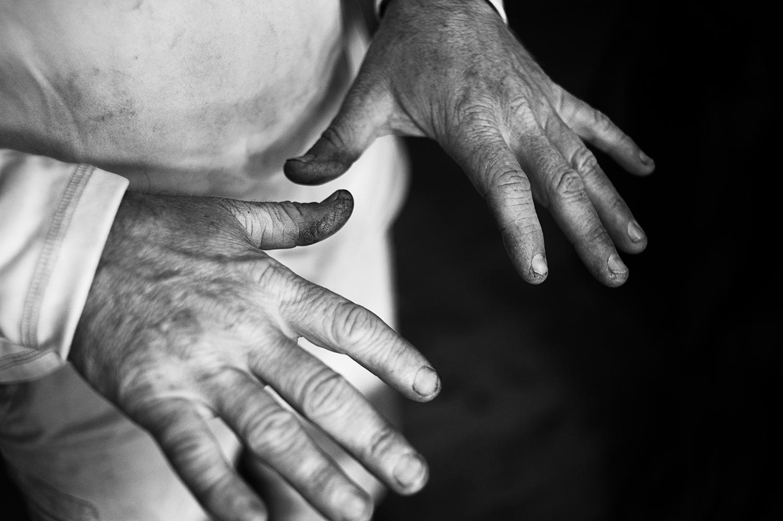 Tony V's Hands