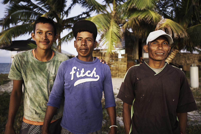 Lobster Fishermen at Faraway Cay