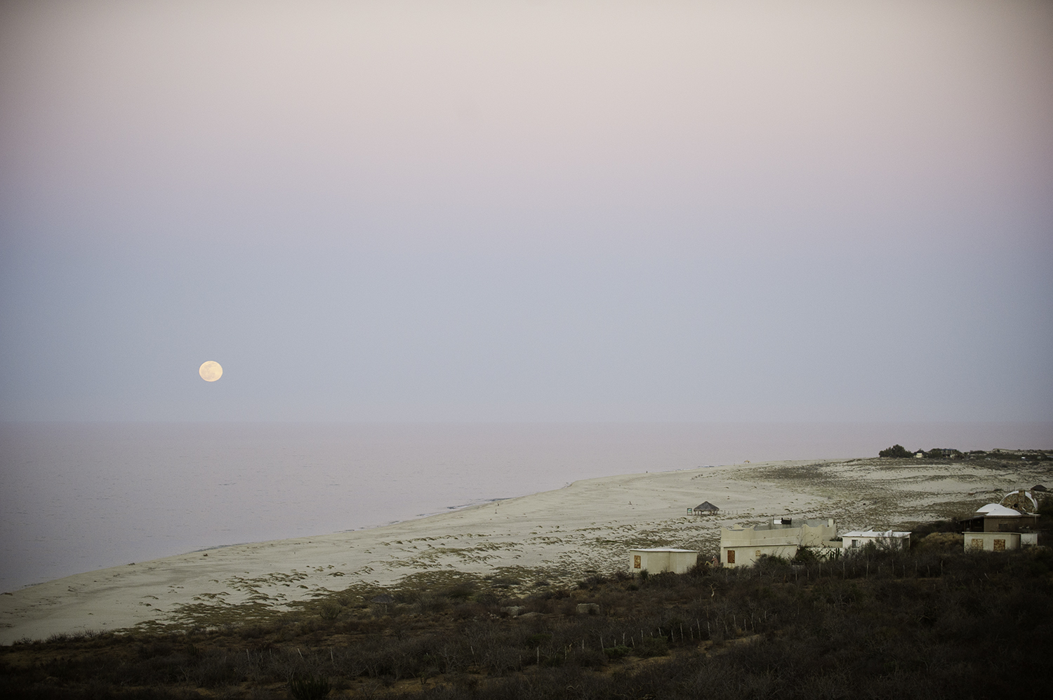 East Cape & Full Moon