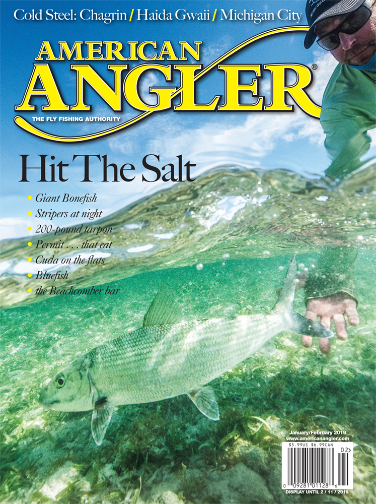 Cover. American Angler. Jan / Feb 2019
