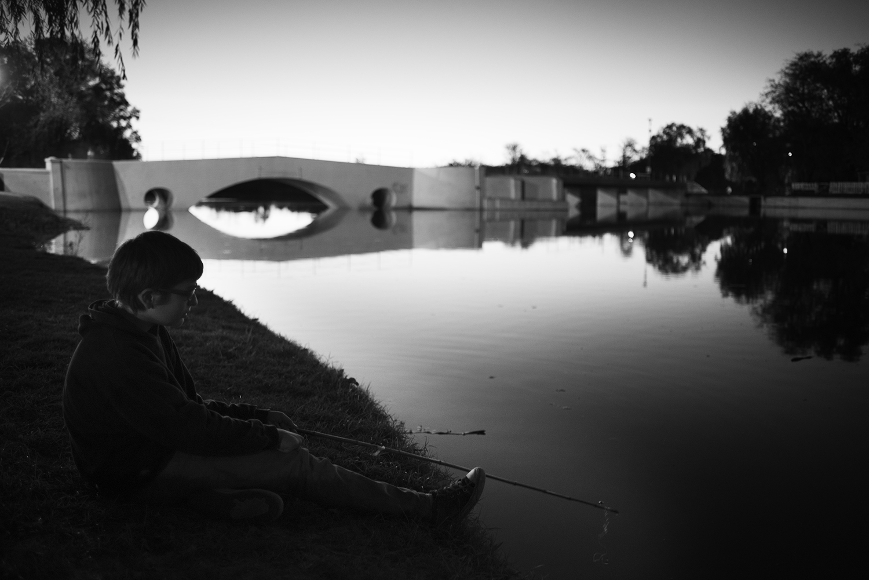 Boy With a Fishing Pole