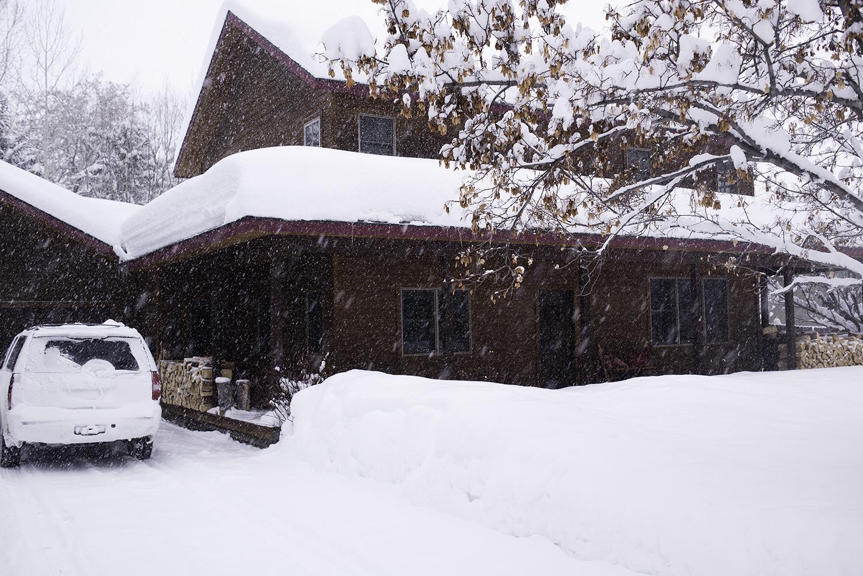 My house…