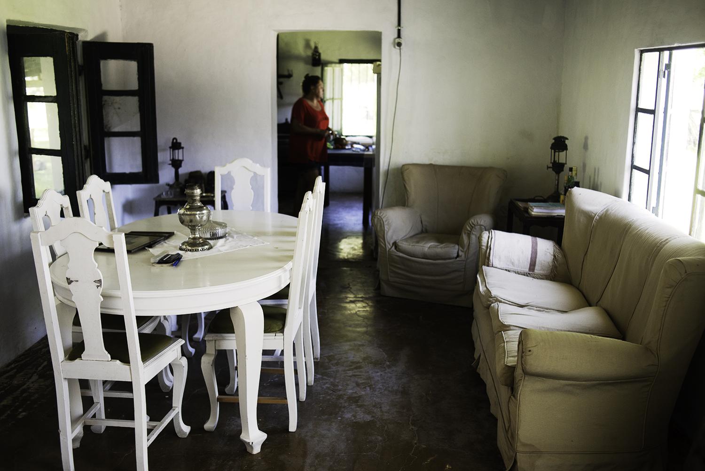 Martín's dinning room. San Antonio de Areco.