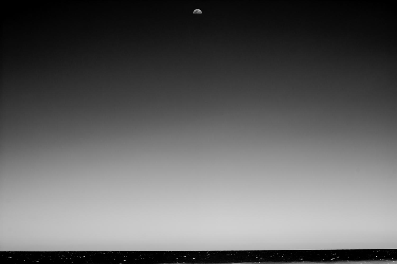 Moon & Sea of Cortez