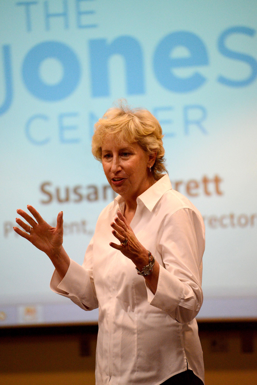 Susan Barrett, Chair of The Jones Trust Board