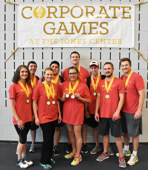 Corporate games pictures northwest arkansas kellogg's