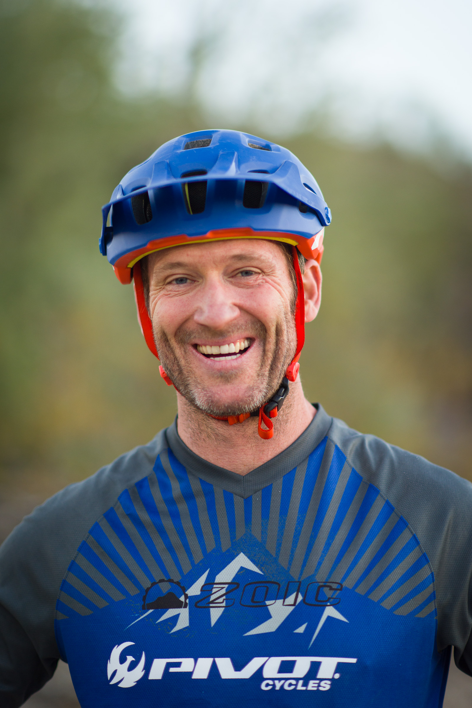 Richard Drew, Professional Mountain Bike Rider and Lead Instructor.