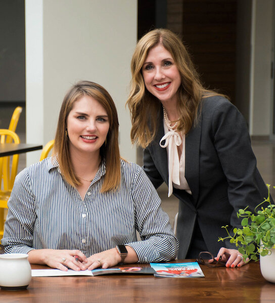 From left to right: Elizabeth Prenger and Kelly Kemp-McLintock, CFRE