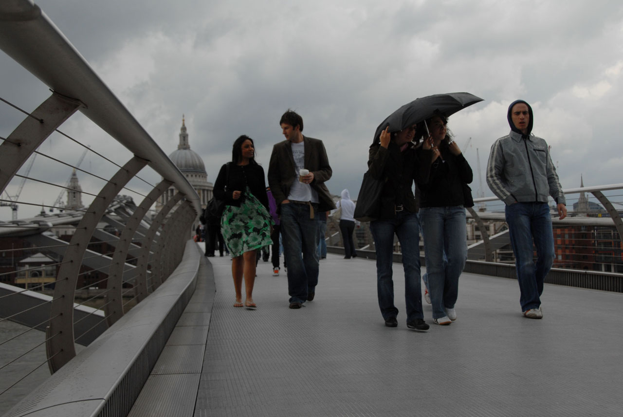Millenium Bridge, Tate Modern