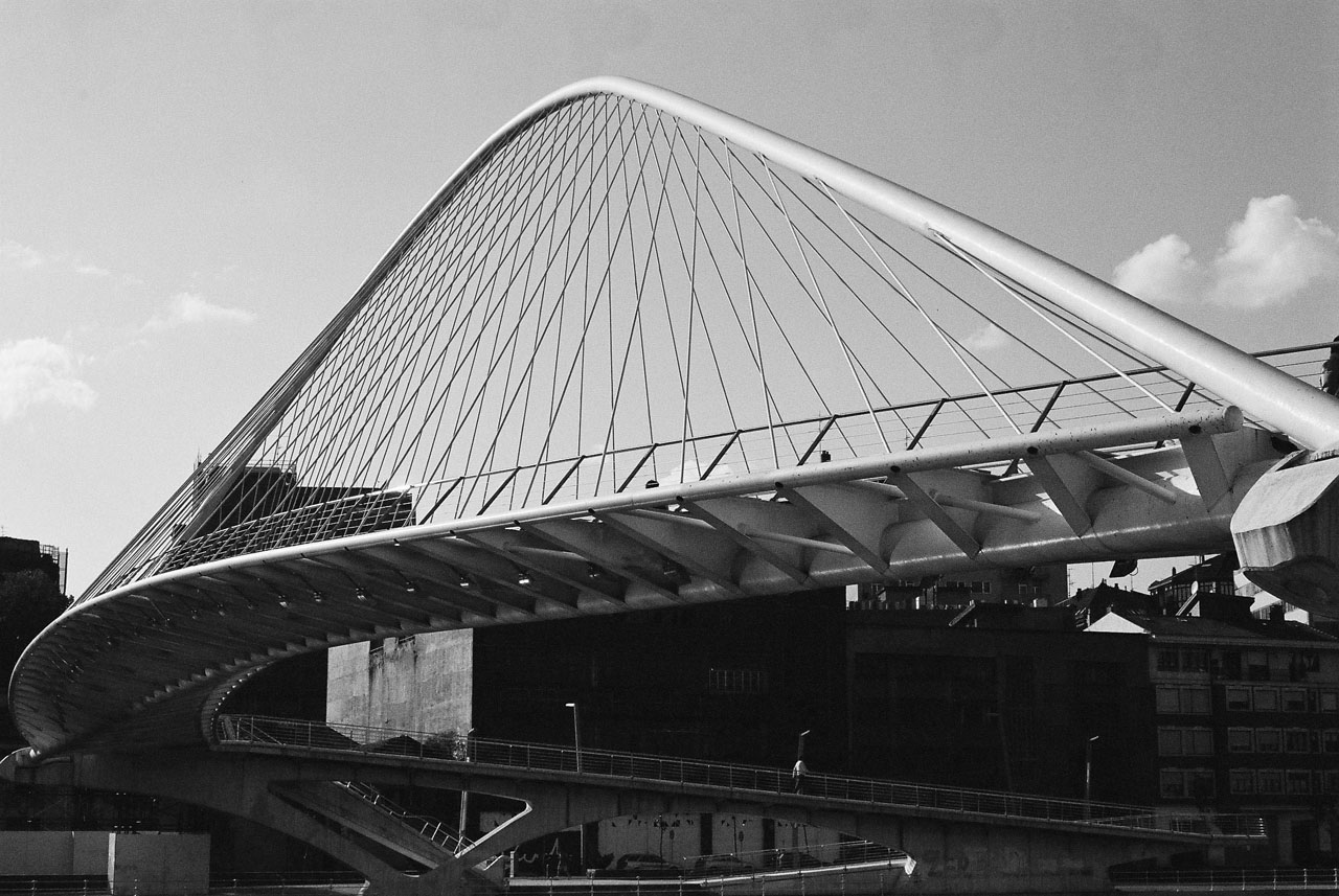 Zubizuri Bridge by Santiago Calatrava