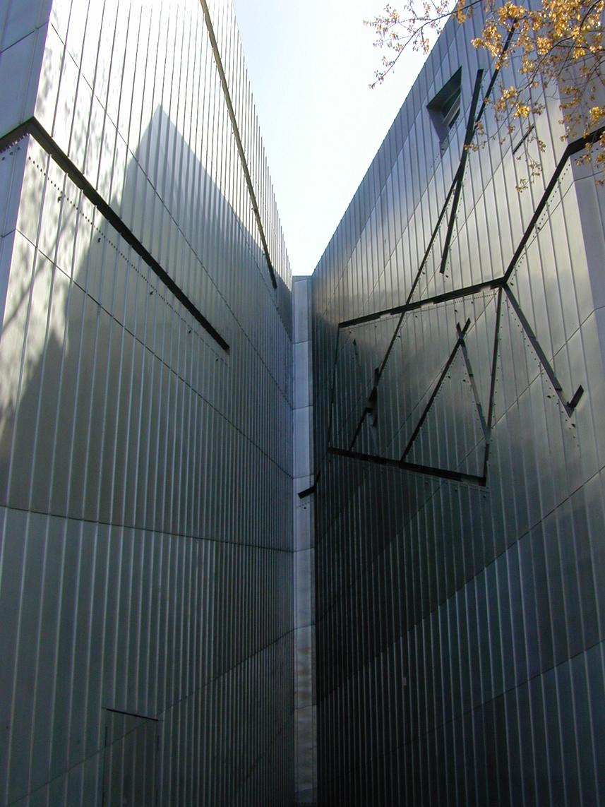 Jewish Museum by Daniel Libeskind
