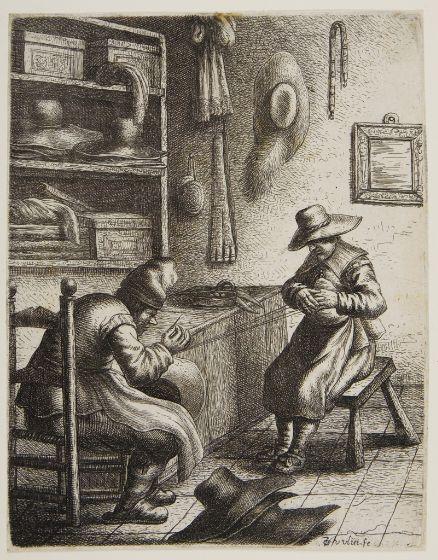Dutch hatters at work, cir. 1635.