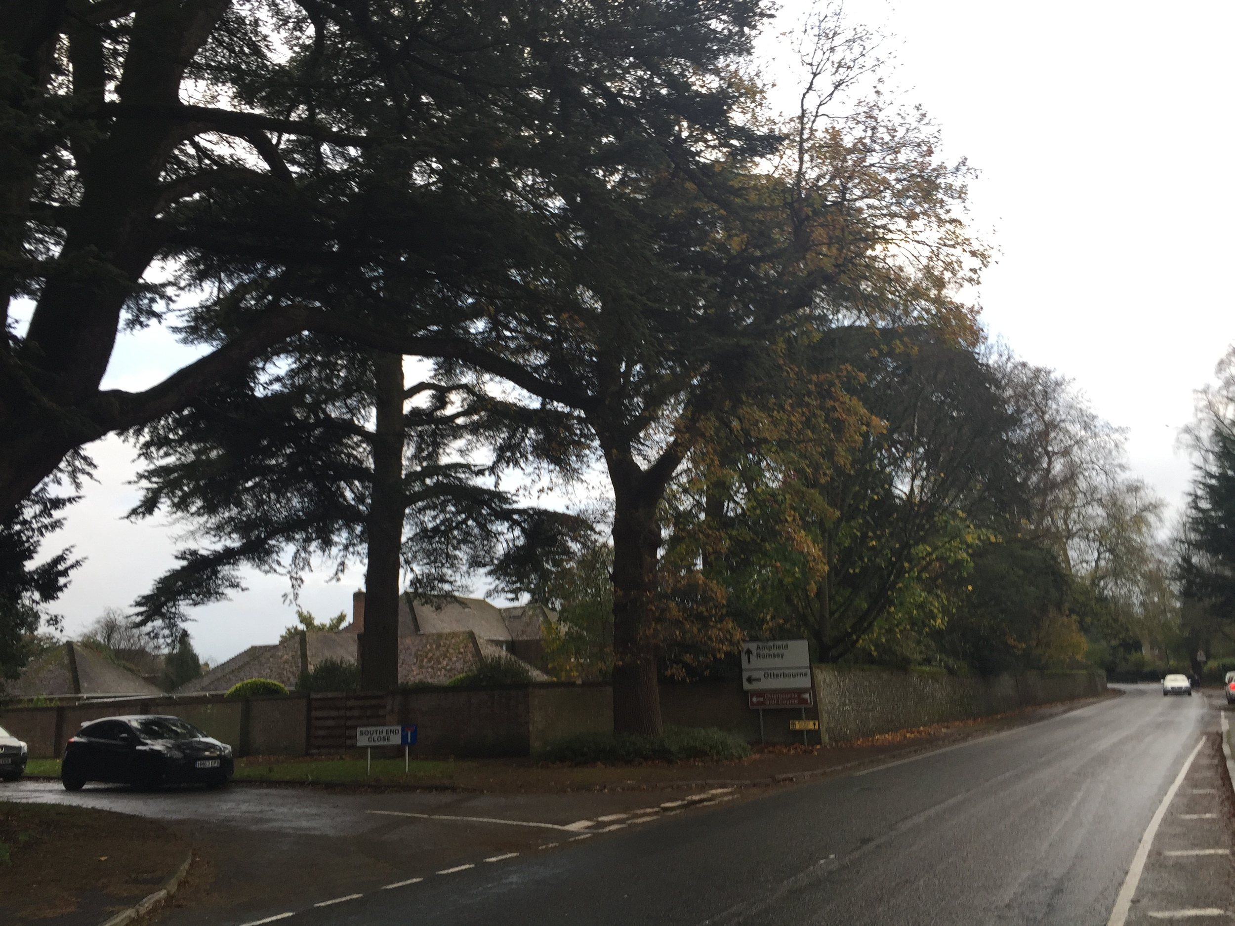 "The plot of land in Hursley where the ""Star Inn"" used to be located.  This Inn was run by Stephen Hopkins' wife Mary's side of the family."