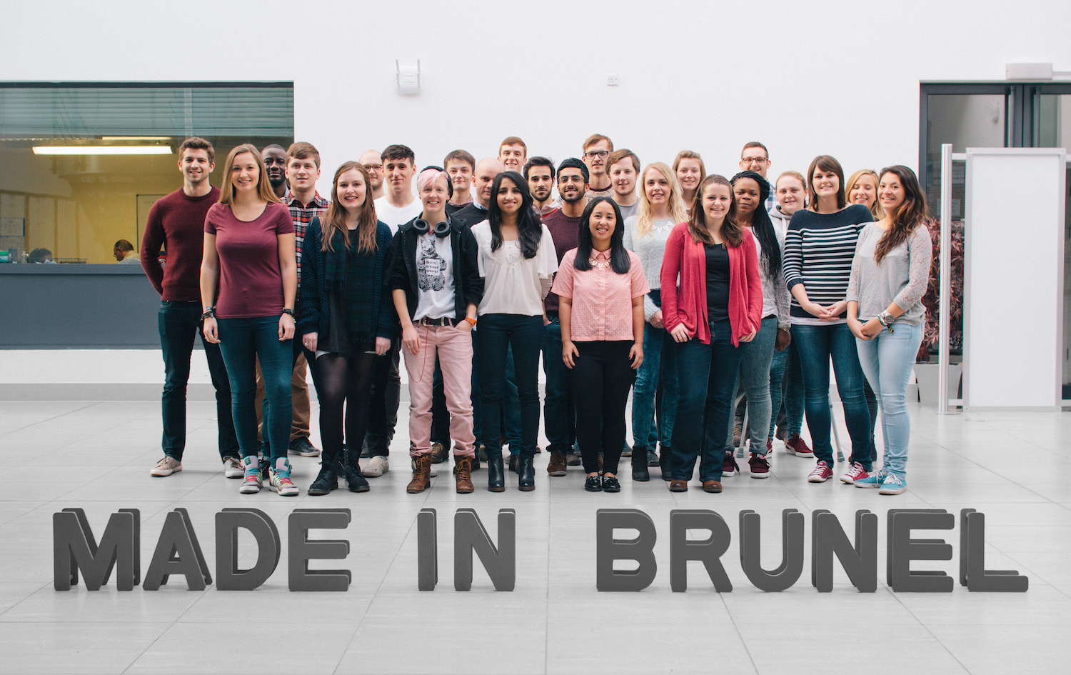 The final year Made in Brunel team