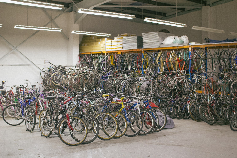 The Bikes4Africa Bike Shed