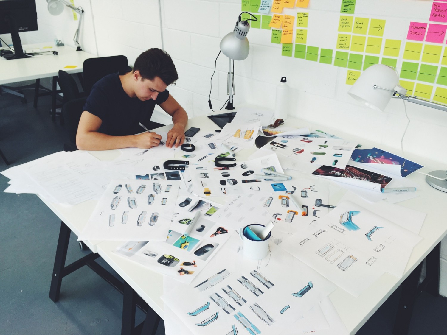 This is Nick doing some awesome designs for a wearable tech product
