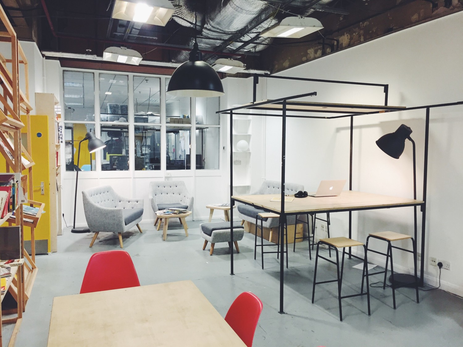 Our lovely studio space at Makerversity