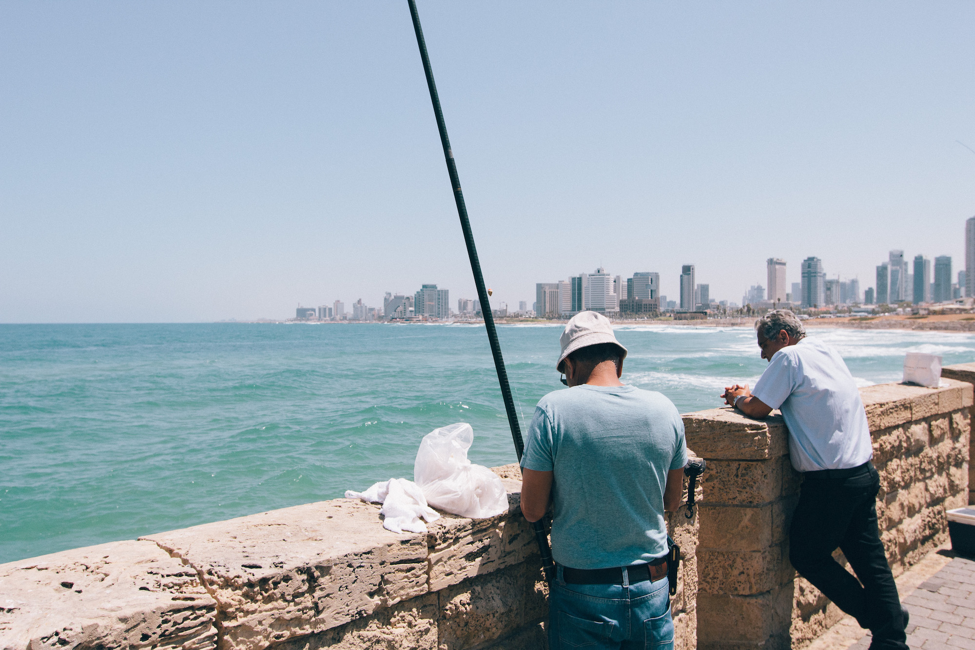 Tel Aviv - Day 1 was spent in Tel Aviv and Jaffa port, before we drove up north to Mount Carmel. Tel Aviv is a busy city that can feel quite European at times. It has large beaches, a few borderline skyscrapers and some great places for coffee and drinks.