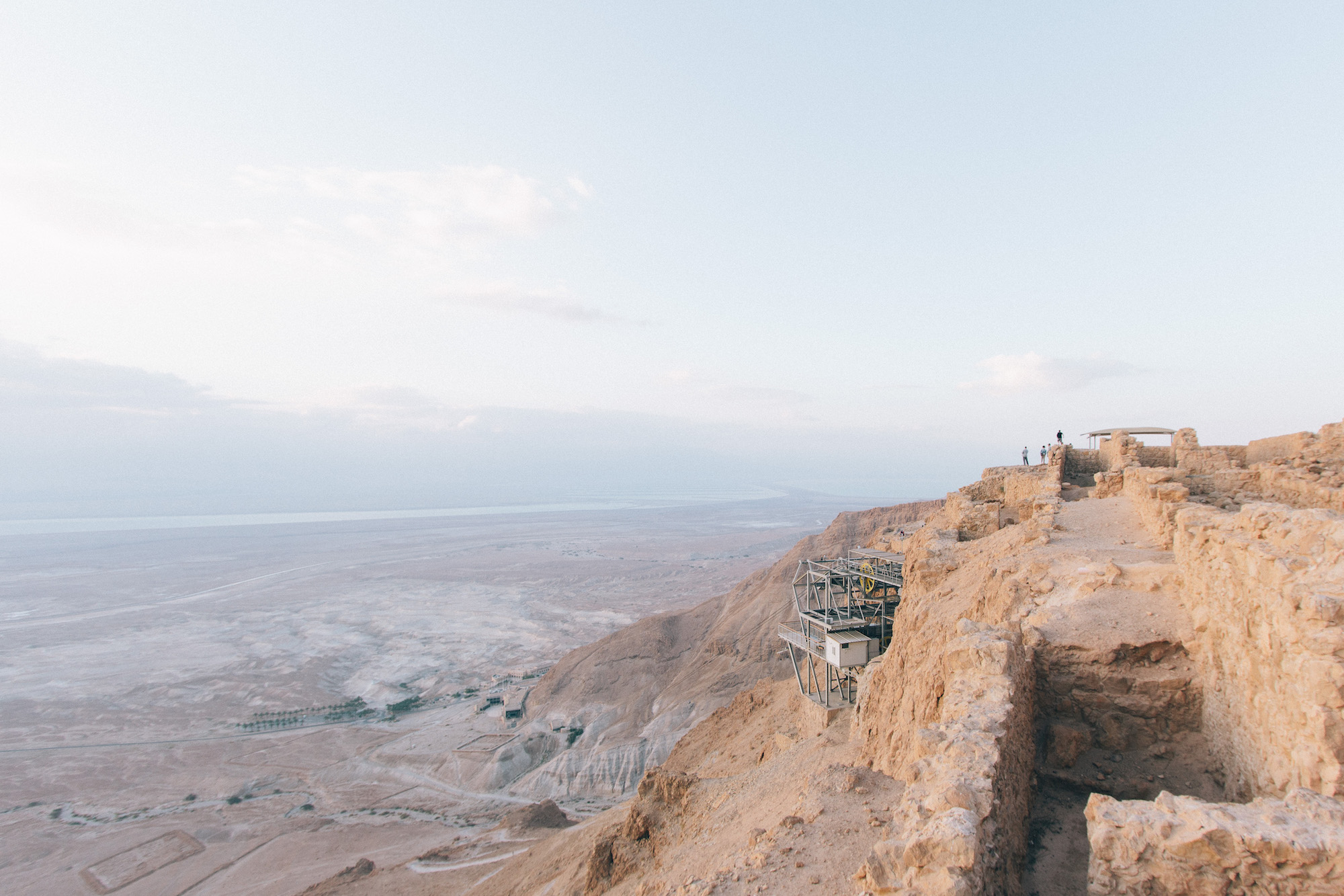 Clifftop views - This was easily one of the highlights of the trip, due to 360 views of the desert with the Dead Sea in the distance. Waking up early to experience the sunrise is an absolute must.