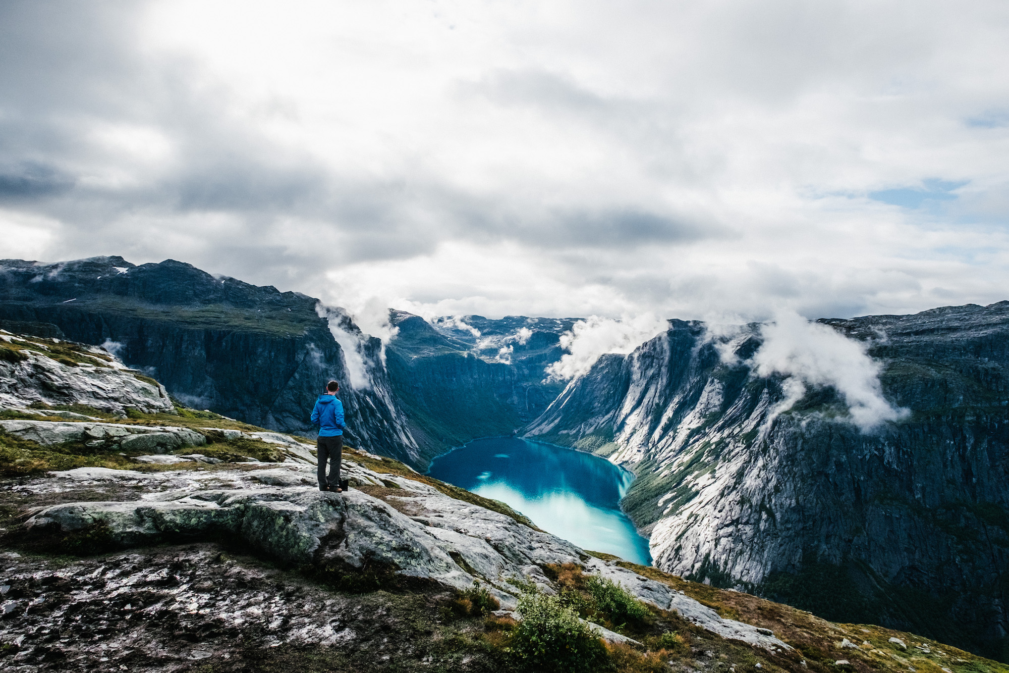 Trolltunga - This 10 hour long hike was the main reason we came to Norway in the first place. It was cold, long and, at the start, quite rainy, however every minute of hiking was so worth it, as the area is just so outstandingly beautiful.
