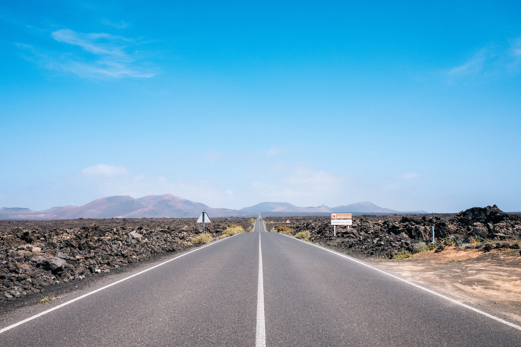 LZ-30 - There are some incredible roads cutting through hills, volcanoes, deserts and lava fields, and driving through them was a great way to get around, but also made the trips really enjoyable. Plus, if you're into cycling, you'll absolutely love these roads.