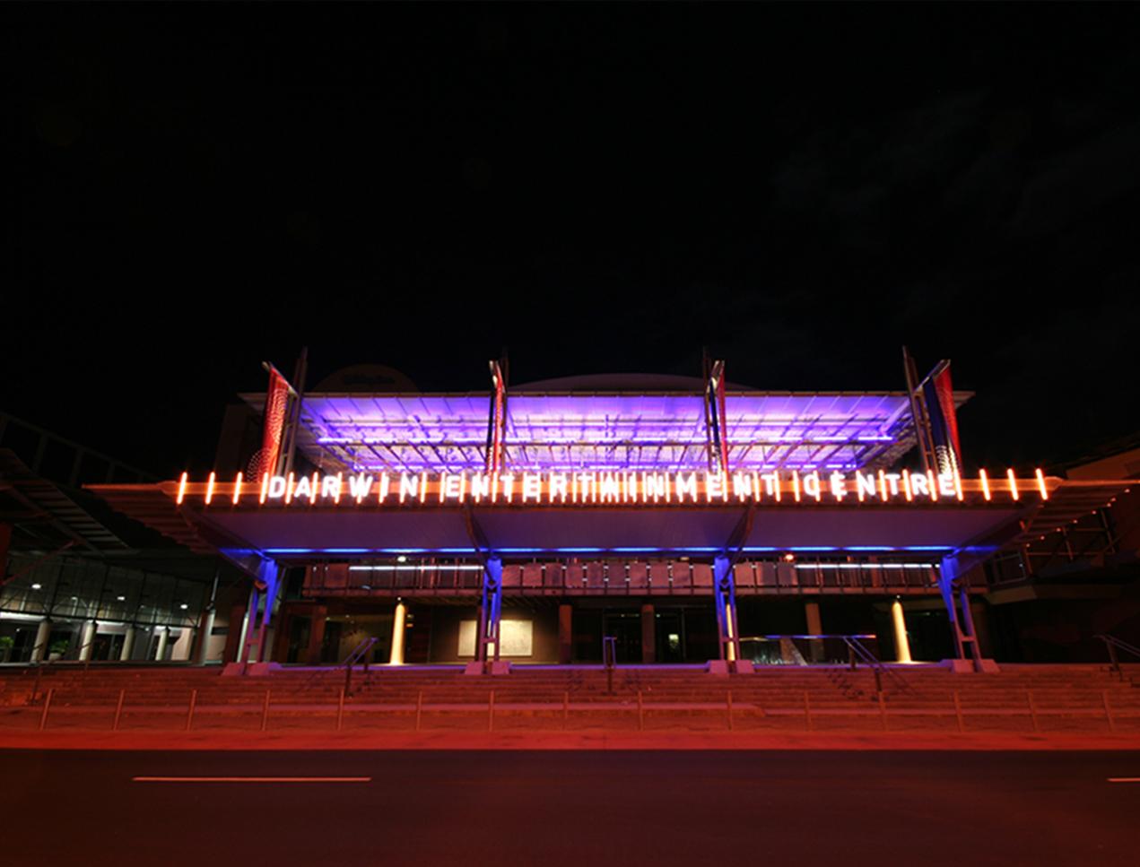Darwin Entertainment Centre Forecourt  - Darwin, NT, 2007
