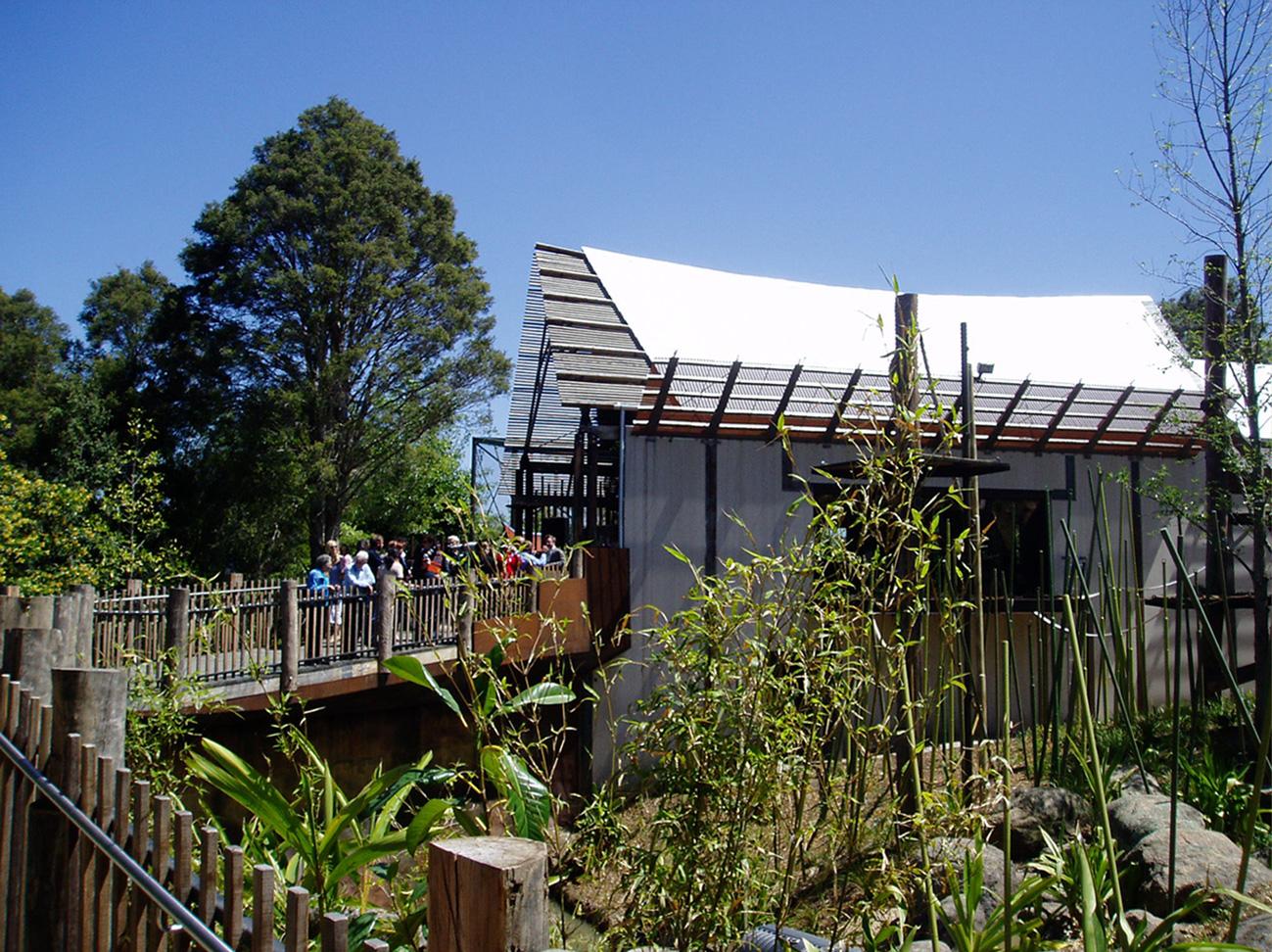Orangutang Forest Sanctuary  - Melbourne Zoo, Vic, 2006