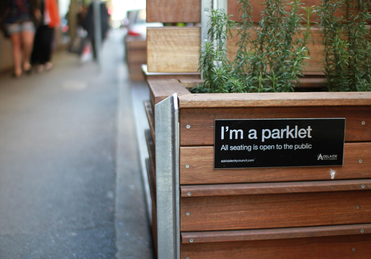 Foods for Life Parklet - Adelaide, SA, 2013