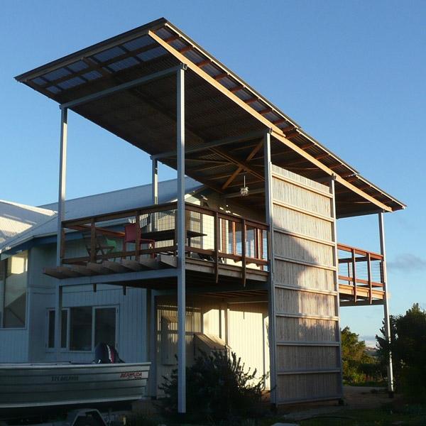 Dave & Robyns Sideways Verandah -Middleton, SA, 2009