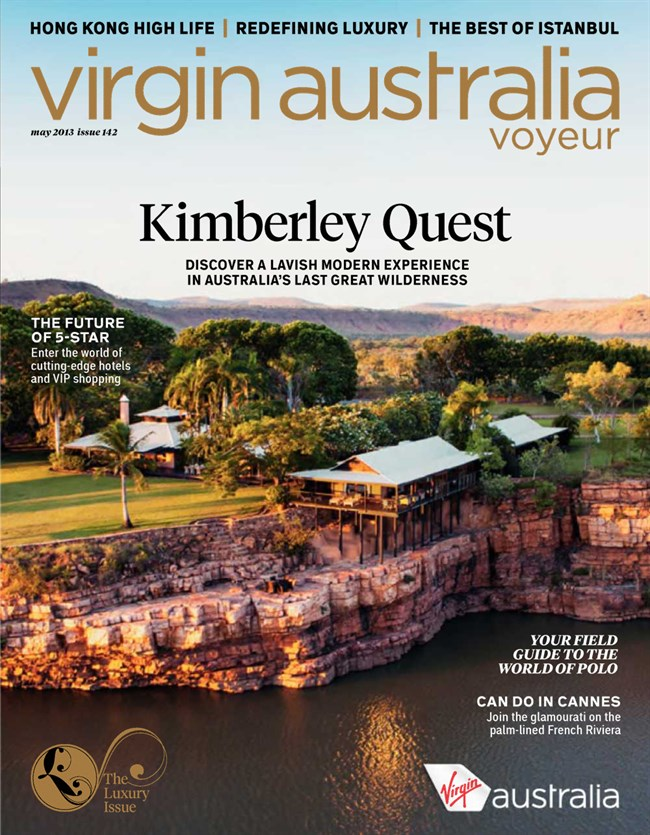 Virgin Australia Voyeur Magazine, 2013