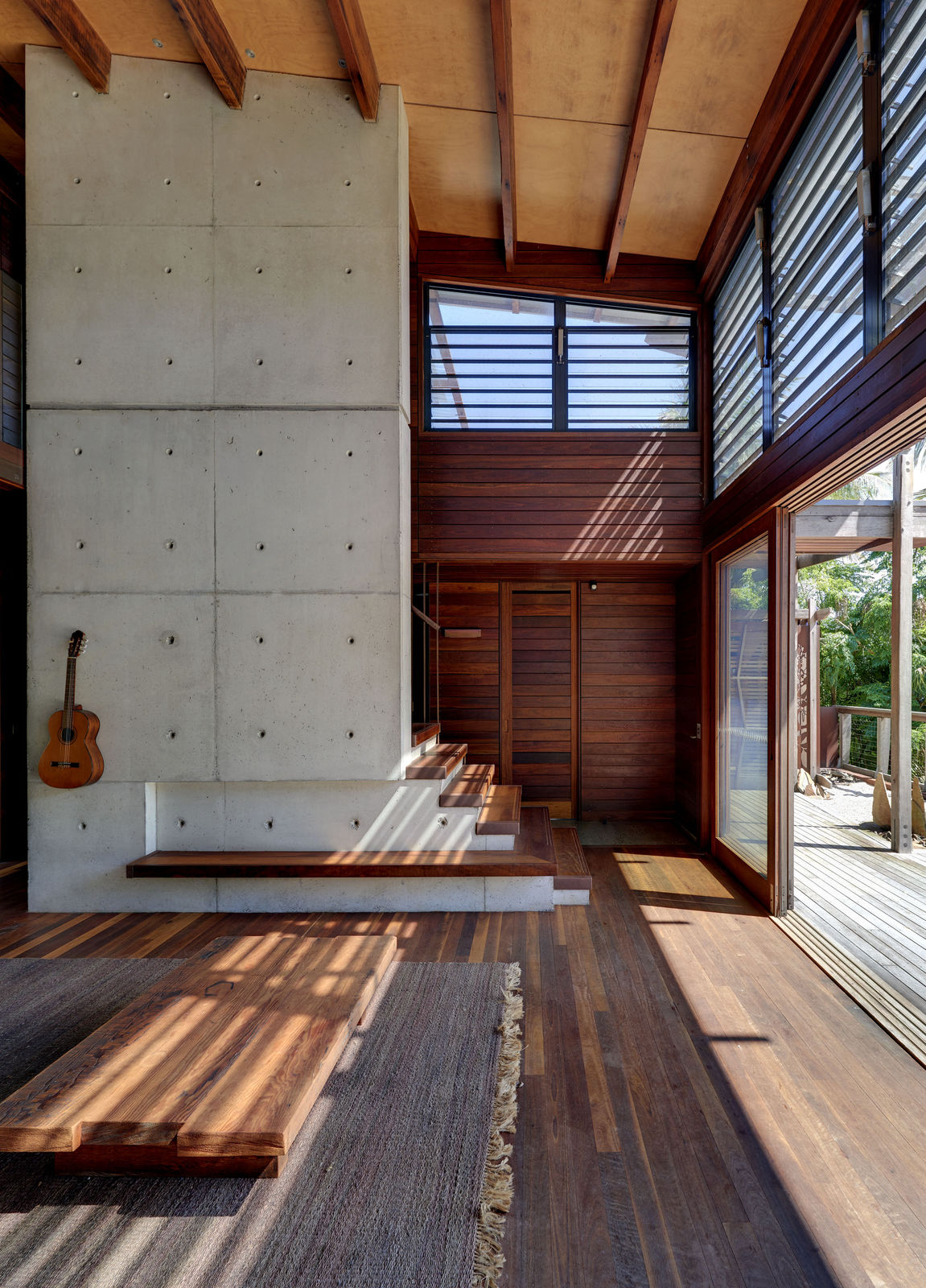 Forest and Beach House
