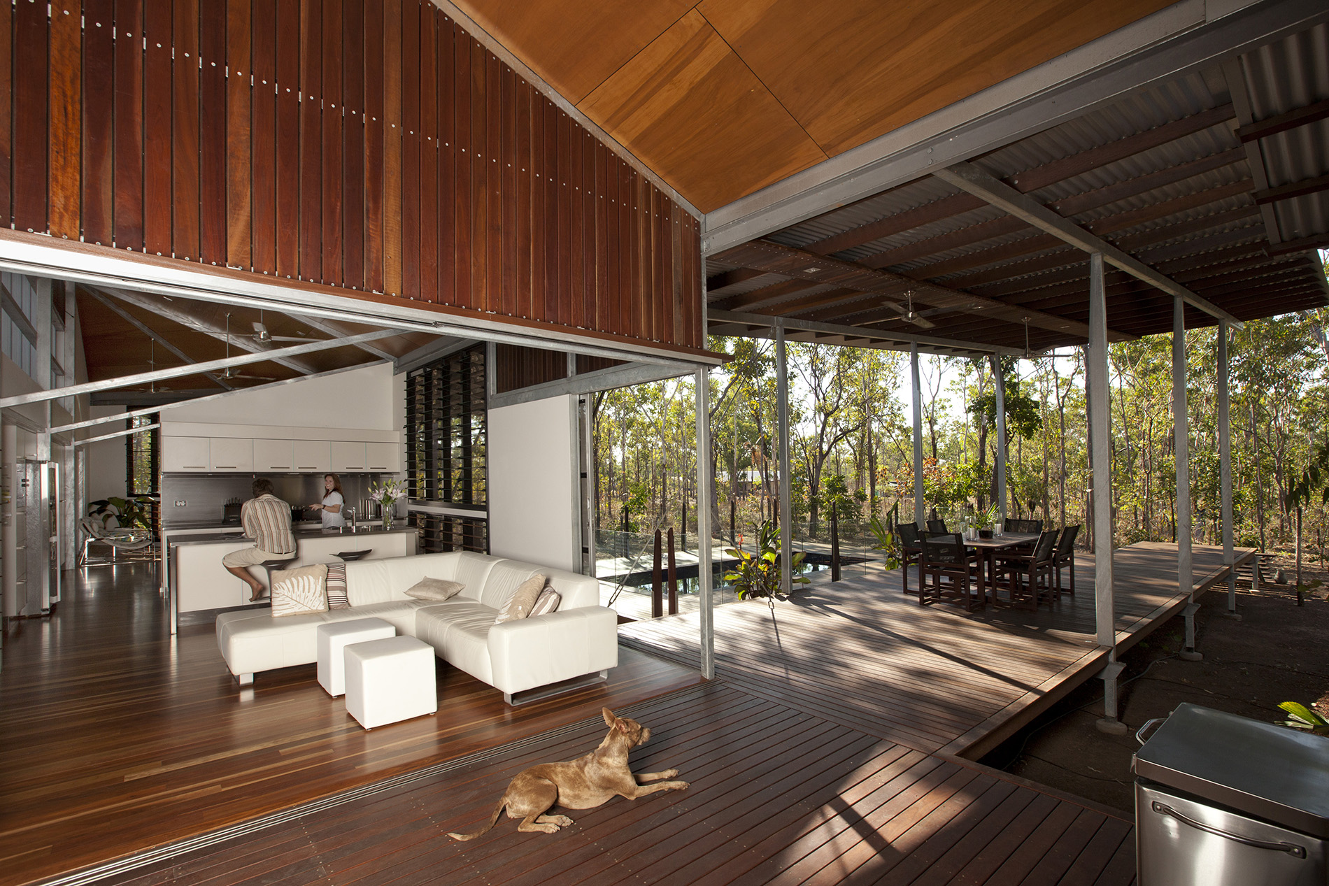 Mortlock Lee House, Girraween, Northern Territory, Australia Troppo Architects