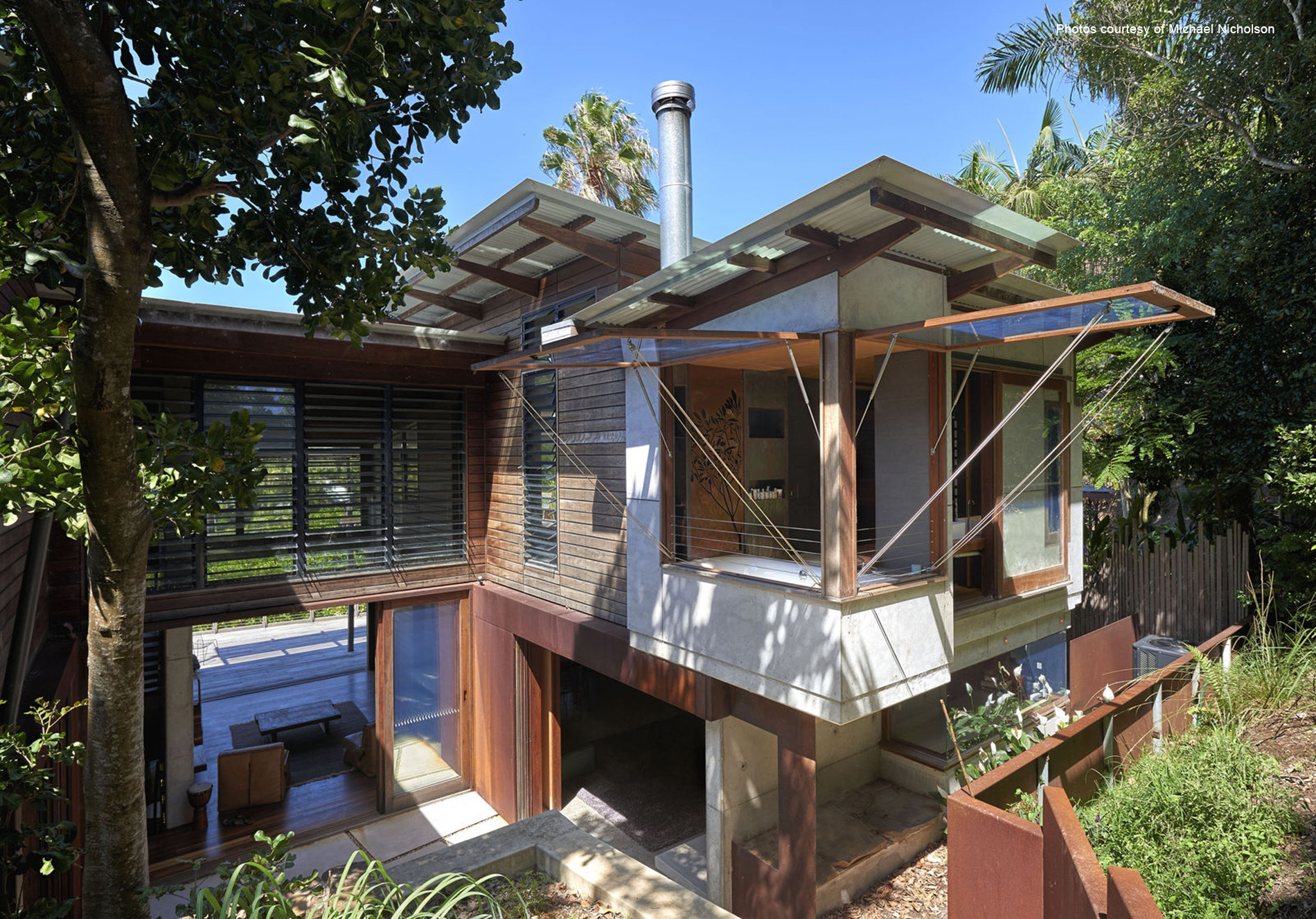 Forest & Beach House, Byron Bay, New South Wales, Australia