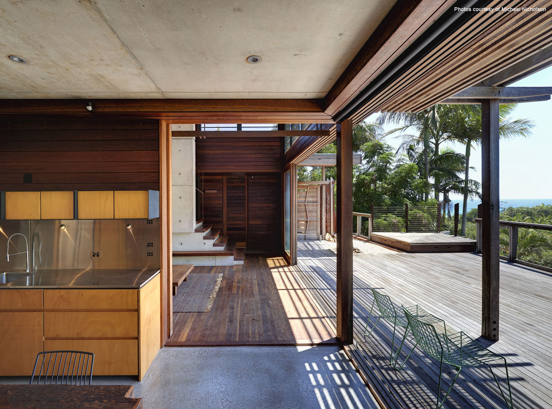 Forest and Beach house, Byron Bay, New South Wales, Australia