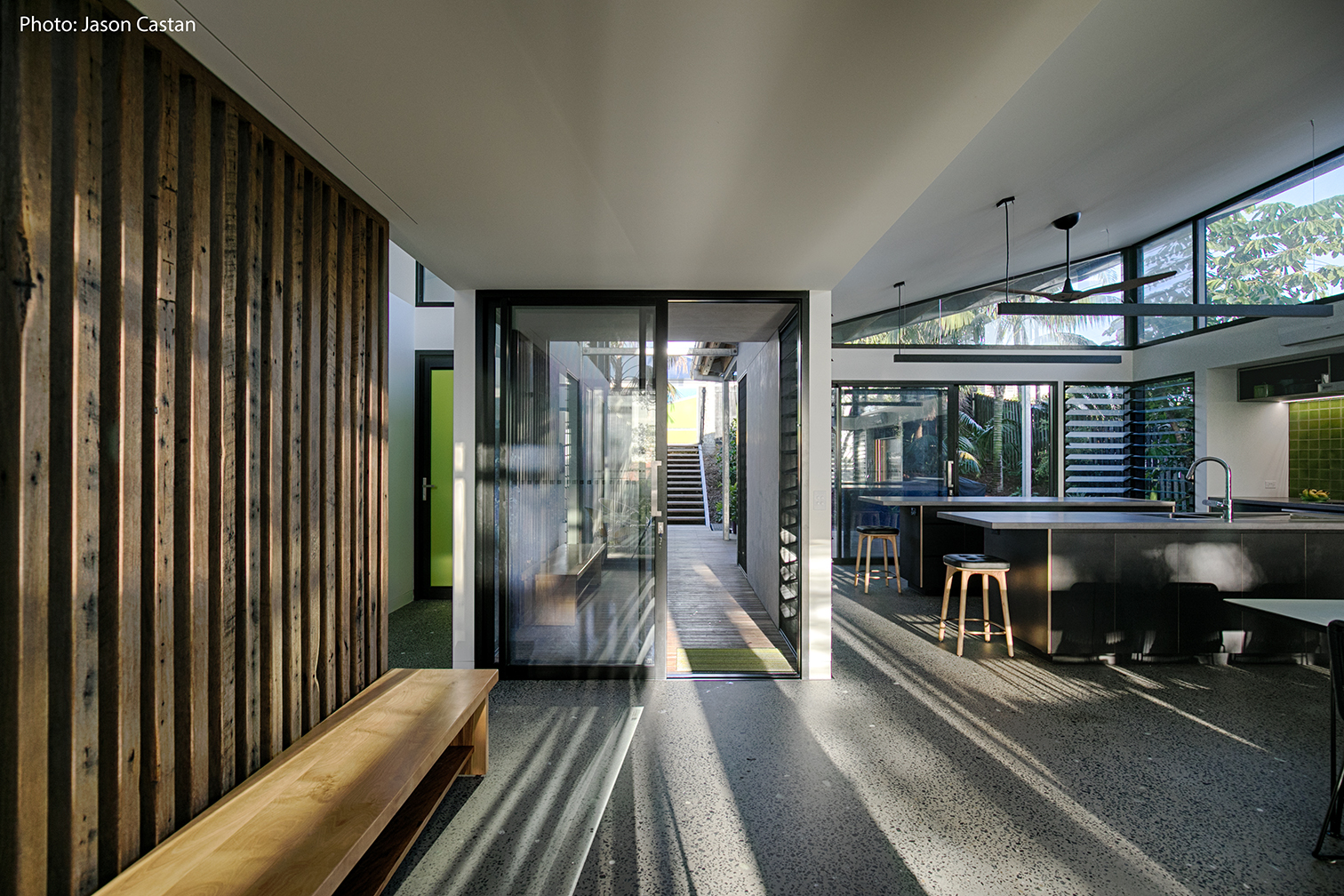 Byron Bay Beach House H House Happy House Recycled Timber