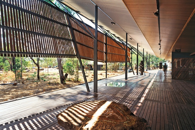 JUNE 2018 - BOWALI VISITORS CENTRE, WINS NT AWARD FOR ENDURING ARCHITECTURE