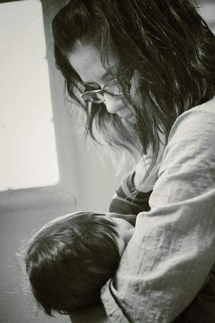 breastfeeding my boy