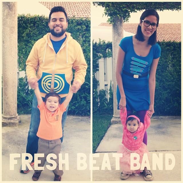 Fresh Beat Band family costume! — Kristel Acevedo
