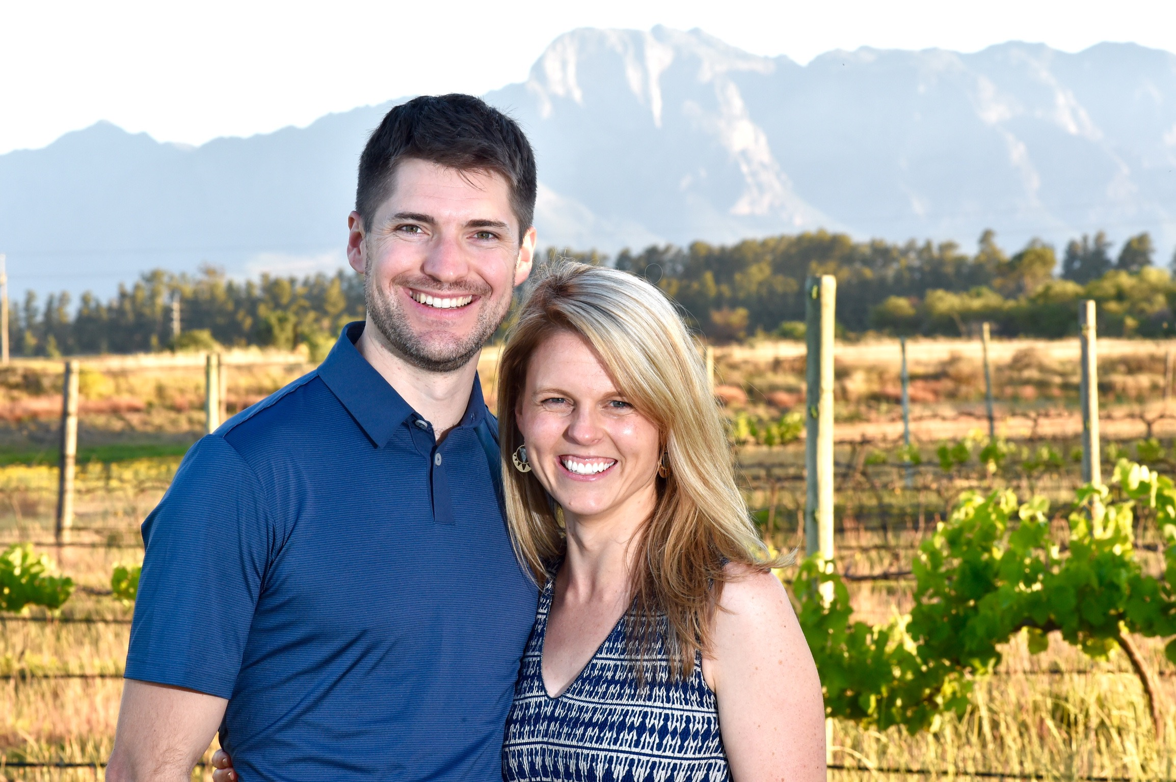 Dr. Nathan Cashion and his fiancé, Dr. Patricia Fogarty