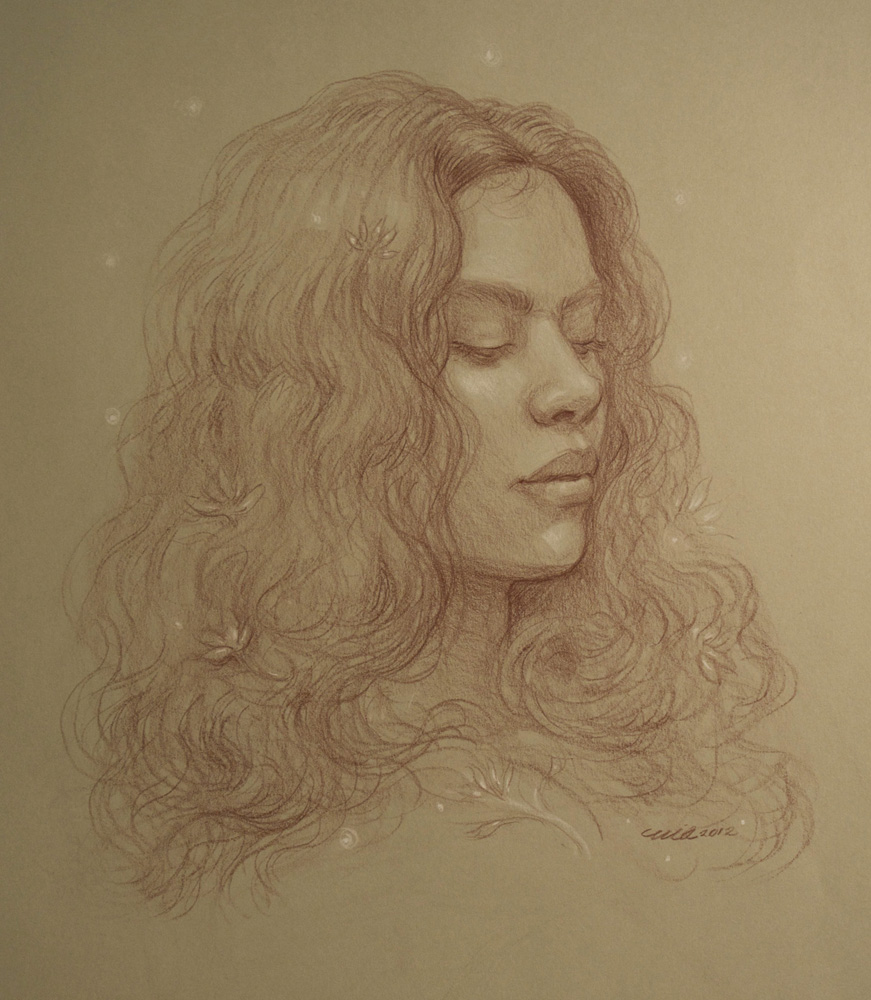'Forest Goddess' study