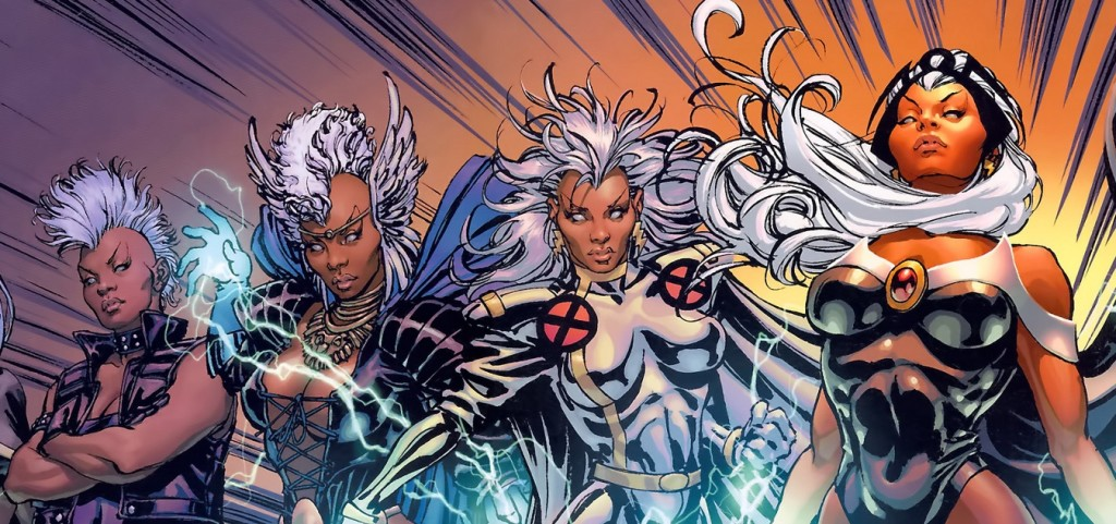 Storm from Marvel's  X-Men .