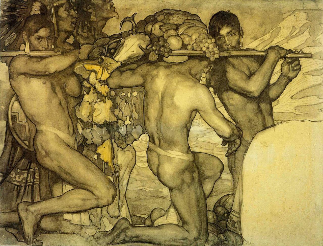 Study for  Nuestros Dioses. 1915.