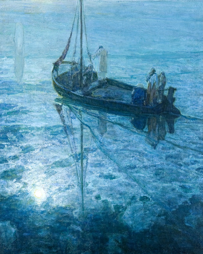 The Disciples See Christ Walking on the Water,  1907.