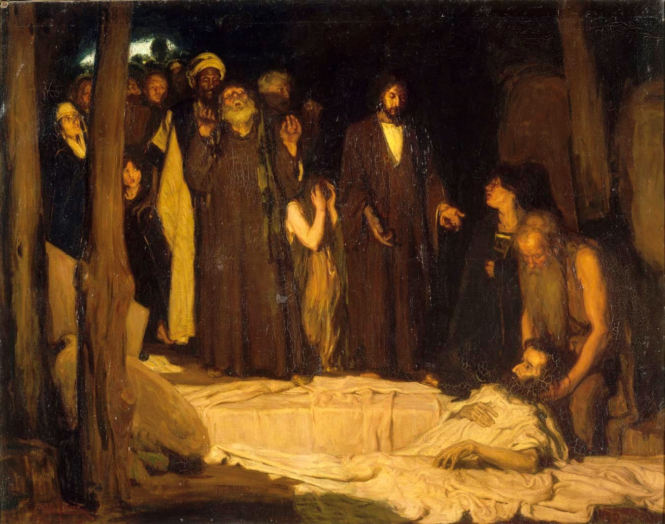 The Resurrection of Lazarus,  1896.