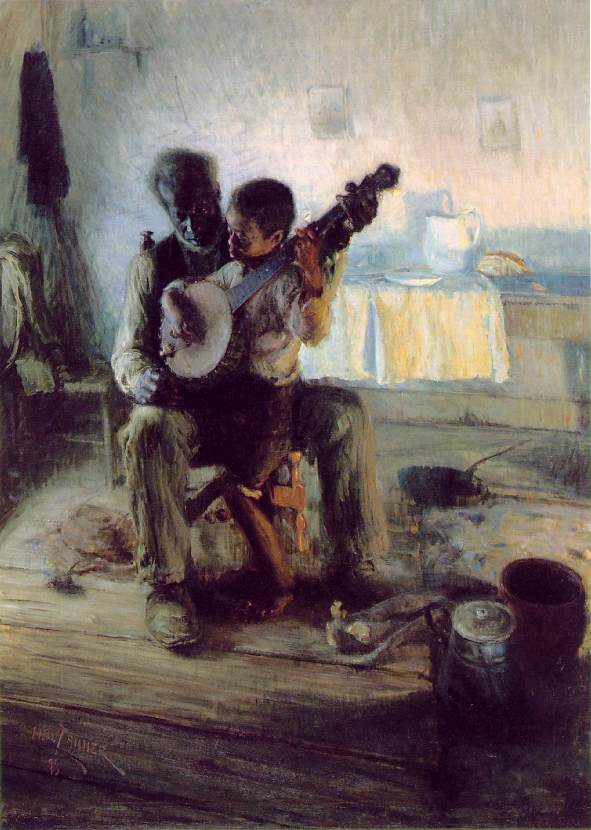 The Banjo Lesson,  1893.