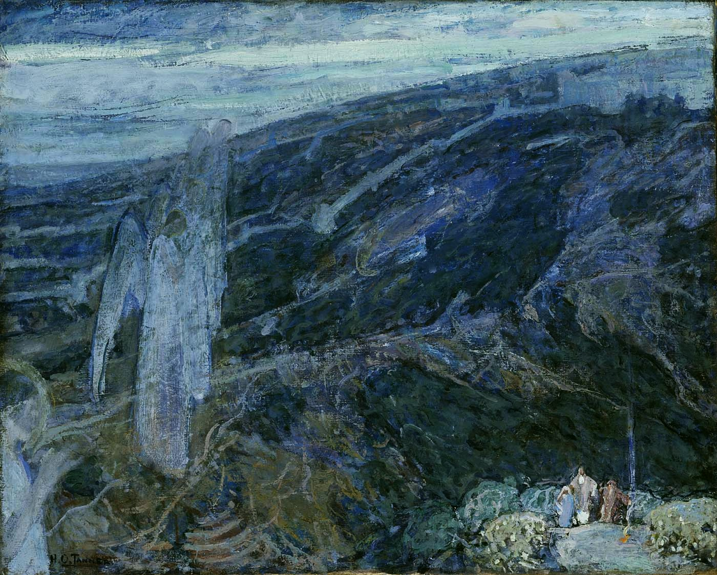 Angels Appearing Before the Shepherds,  1910.