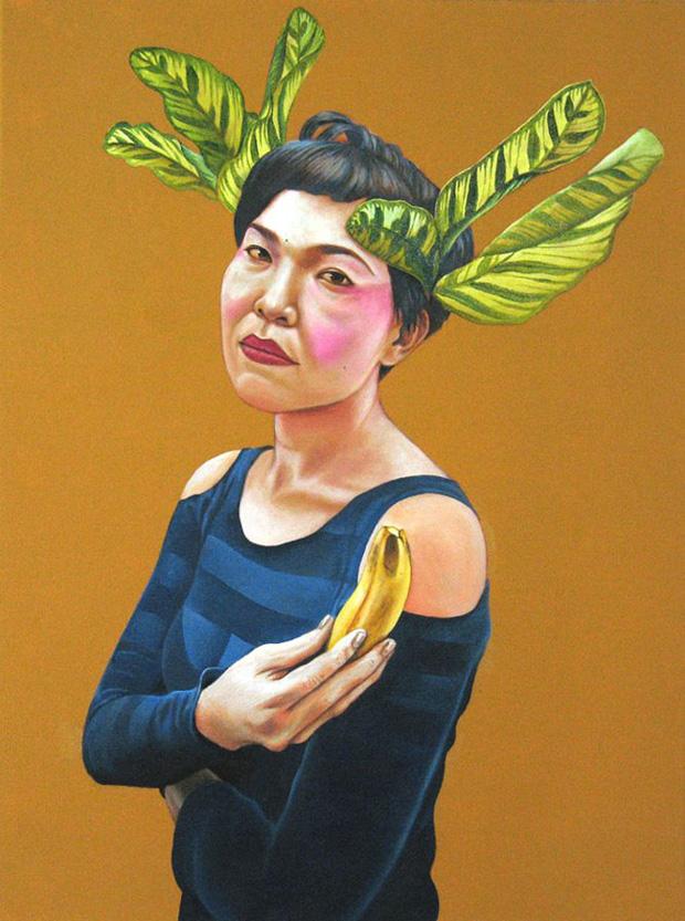 Portrait of Sharon Chin by  Shahril Nizam .