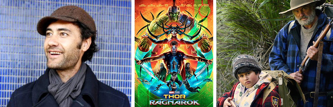 Taika Waititi.  Thor:Ragnarok  (2017),  Hunt for the Wilderpeople (2016).