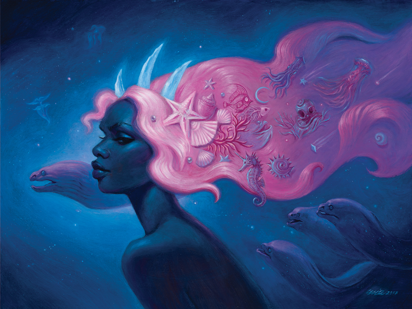 """Cosmic Mermaid"""